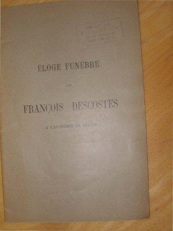 FRANÇOIS DES _.OSTES