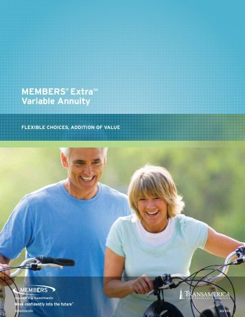 MEMBERS® ExtraSM Variable Annuity - CUNA Mutual Group