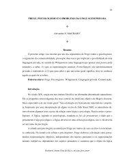 Frege, Psicologismo e o Problema da Linguagem Privada - UNISC ...