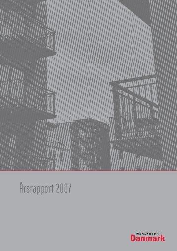 Årsrapport 2007 for Realkredit Danmark