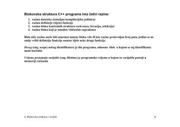slides06-Blokovska struktura.pdf - FESB