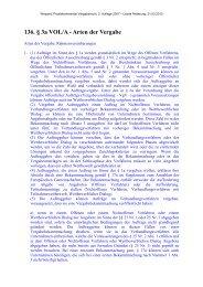 136. § 3a VOL/A - Arten der Vergabe - Oeffentliche Auftraege