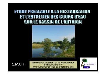 Partie 1 - Etude préalable Authion Lathan (PDF ... - Sage de l'Authion