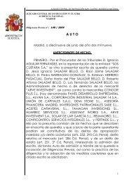 2009-6-19 Admision a tramite querella SOS Cuétara