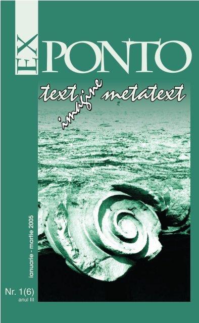 Nr. 1 (06) anul III / ianuarie-martie 2005 - ROMDIDAC