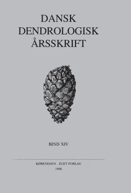 Volume 14 (1996) - Dansk Dendrologisk Forening