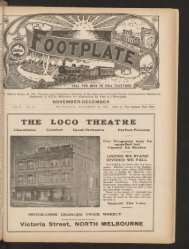The Footplate: vol. 11, no. 11 (November-December, 1928)