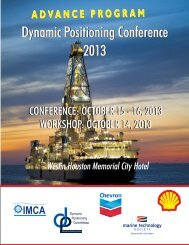 registration rates and to register - Dynamic Positioning Committee of ...