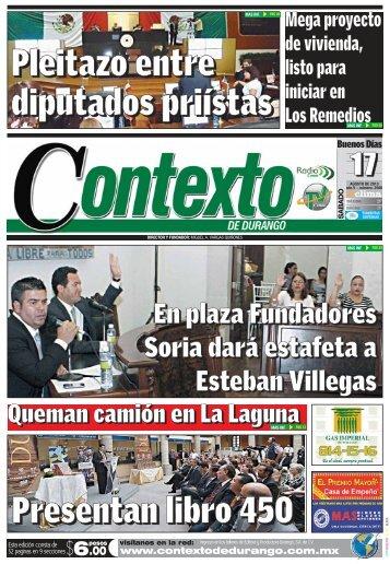 17/08/2013 - Contexto de Durango