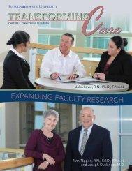 Transforming Care Magazine: Fall 2013 Issue - Christine E. Lynn ...