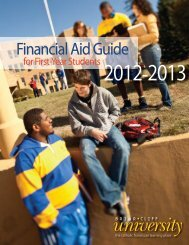 Financial Aid Guide - Briar Cliff University