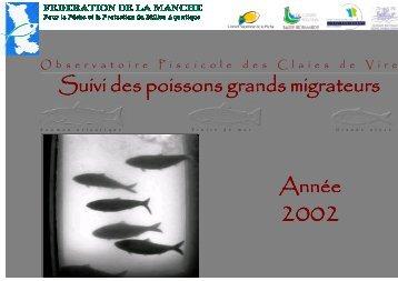 Comptage des Poissons Grands Migrateurs - FDAAPPMA 50
