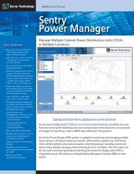 Sentry Power Manager - Temple