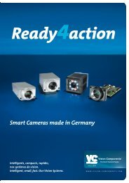Smart Cameras made in Germany