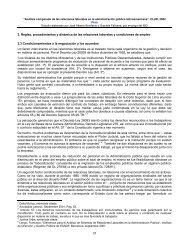 3. Reglas, procedimientos y dinámica de las relaciones ... - CLAD