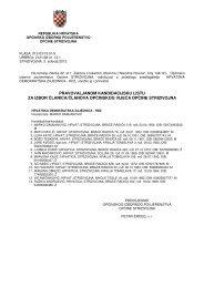 pravovaljanom kandidacijsku listu za izbor članica/članova ...