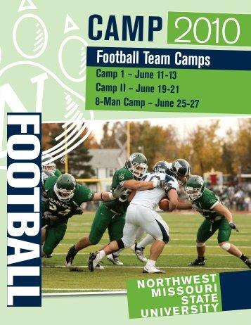 Football Team Camps - Northwest Missouri State University