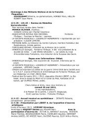 Invitation 25-26 mai 2013 - Fontaine-L'Evêque