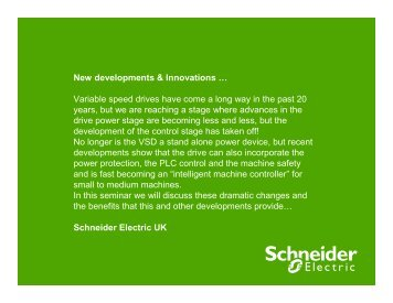 VSD New developments & Innovations - ESR Technology