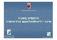 FIUME BRENTA - Riviste - Provincia autonoma di Trento
