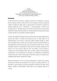Master Gestión Cultural - Carlos III Máster en Gestión Cultural