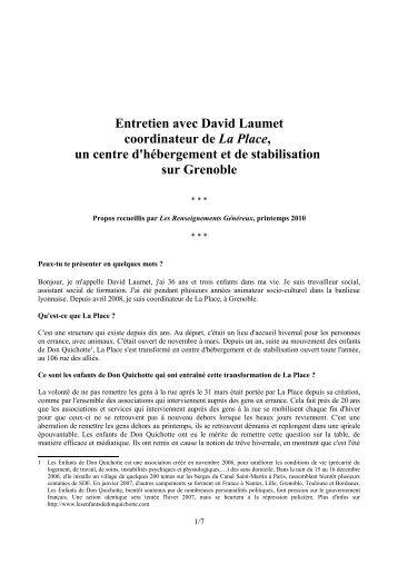 Interview_David_LaPlace.pdf PDF a4 - Les renseignements généreux