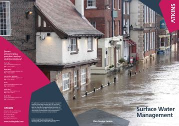 Surface Water Management - Atkins