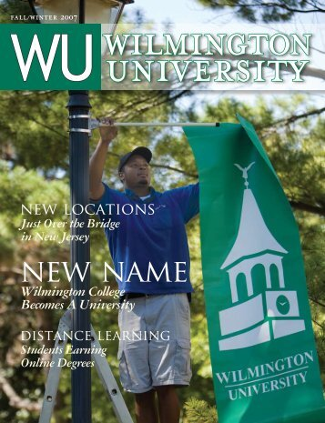 new name new name - Wilmington University