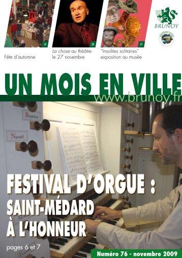 saint-Médard à l'honneur - ville de Brunoy