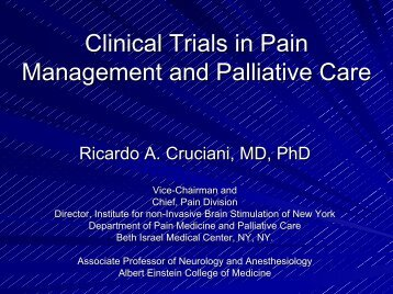 View Slides (.pdf) - Department of Pain Medicine and Palliative Care