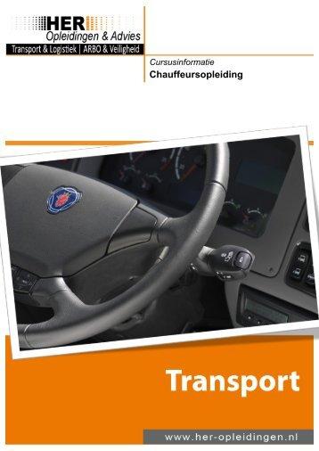 Transport – Chauffeursopleiding - HER Opleidingen