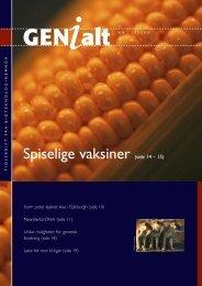 Last ned GENialt 2/2000 (pdf). - Bioteknologinemnda