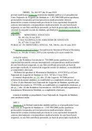 ORDIN Nr. 461/477 din 18 mai 2010 privind modificarea Ordinului ...