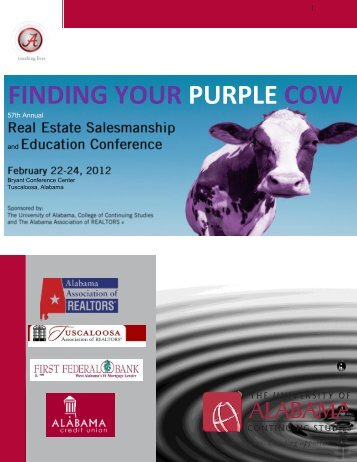 finding your purple cow - Professional Development & Training - The ...