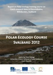 here - Centre for Polar Ecology