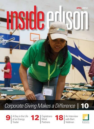 Corporate Giving Makes a Difference 10 - Inside Edison