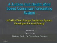 A Turbine Hub Height Wind Speed Consensus Forecasting System