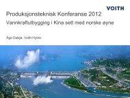 Vannkraftutbygging i Kina sett med norske øyne - Energi Norge