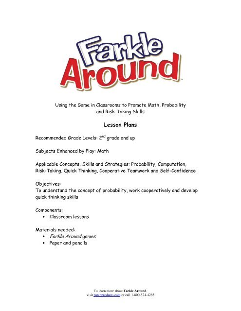 picture regarding Farkle Instructions Printable identified as Farkle regulations patch items