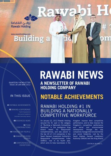 Rawabi Holding Newsletter Issue 28