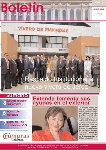 BOLETIN 3.qxp - Consejo Andaluz de Cámaras