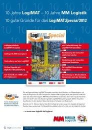Logimat Special 2012 - Vogel Business Media