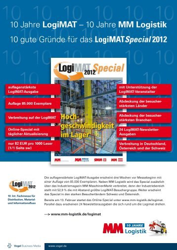 Logimat Special 2012 - Vogel Business Media
