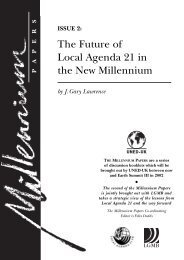 Millennium Papers - Stakeholder Forum