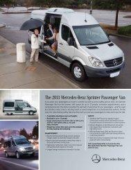 The 2013 Mercedes-Benz Sprinter Passenger Van - TheSprinter.ca