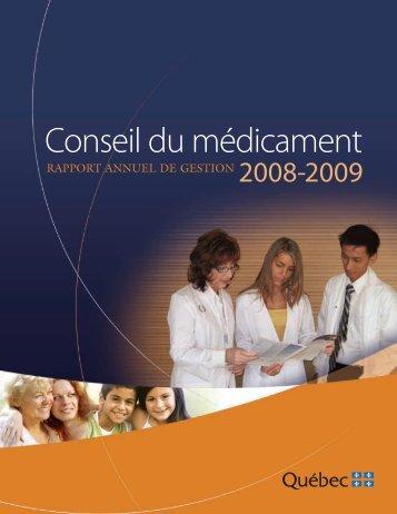 Conseil du médicament - Uqar