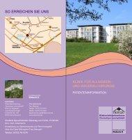 Klinik für Allgemein und Visceralchirurgie - Diakoniekrankenhaus ...
