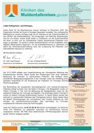 2. Quartal 2006 - Krankenhaus Wurzen