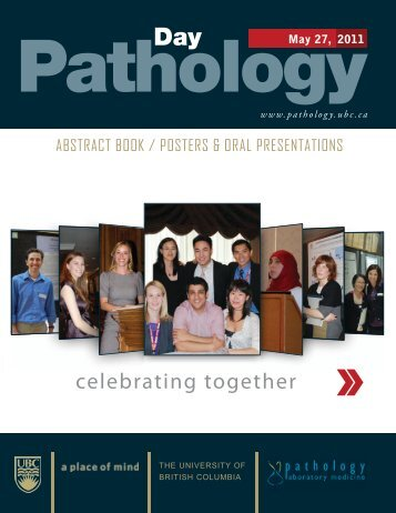 Abstract Book 2011 - Pathology and Laboratory Medicine