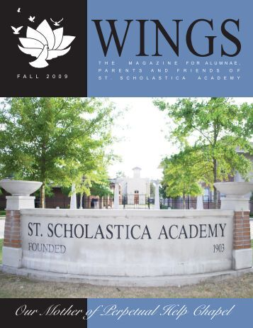 Wings Fall 09 - St. Scholastica Academy